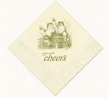 Alexa Pulitzer beverage napkins, American Made gifts under $30