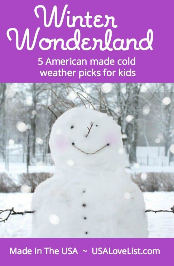 5 American made cold weather picks for kids via USALoveList.com