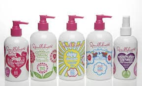Sparklehearts - Fun and free of toxin's bath and body care for girls.