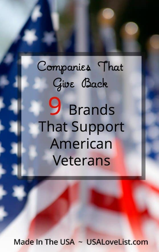 Veteran's Day Companies that support Veterans