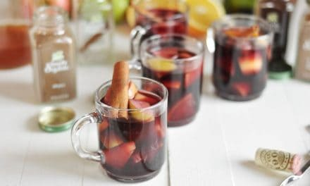 Simple Slow Cooker Sangria Recipe With Simply Organic Spices