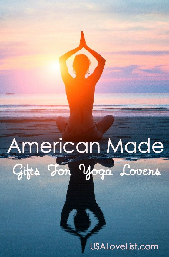Yoga Lovers Gift Guide via USALoveList.com