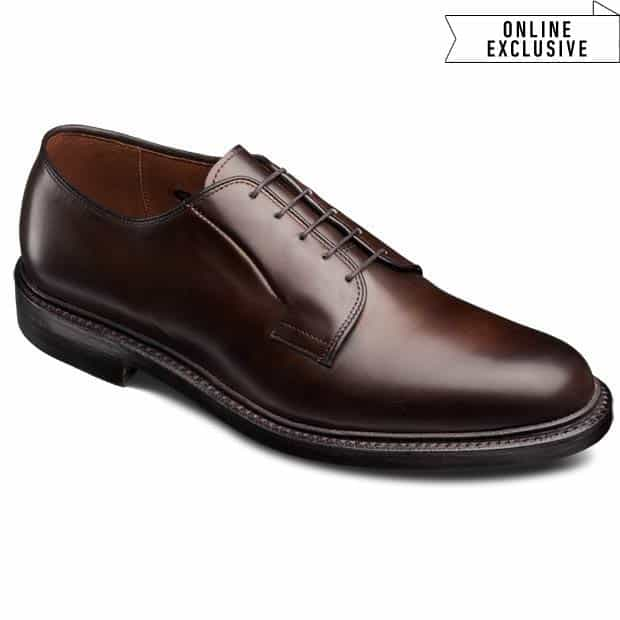 Leeds Plain-toe Lace-up Oxford Men's Dress Shoes made in Wisconsin by Allen Edmonds #giftsformen #manstyle