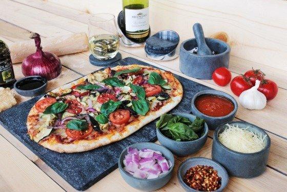 SPARQ Soapstone Pizza Stones #madeinUSA