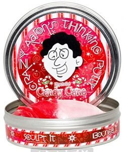 Crazy Aaron's Thinking Putty Mini Candy Cane #madeinUSA stocking stuffer
