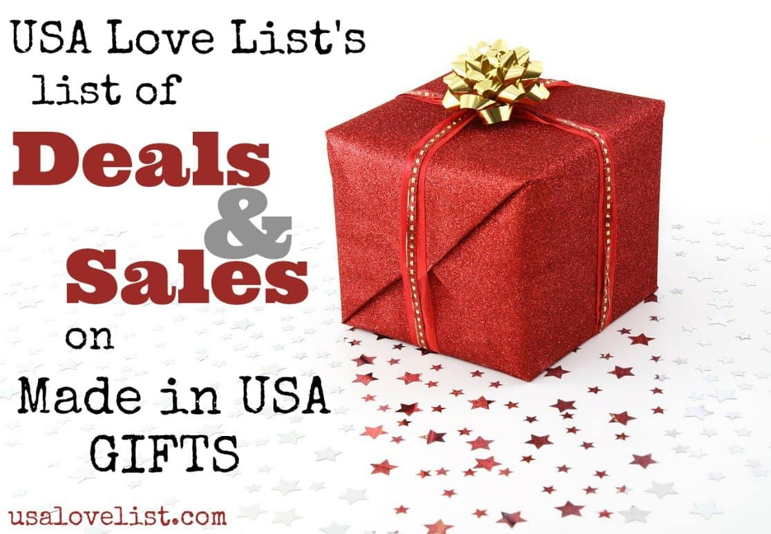 Cyber Monday Deals on American Made Gifts – Start Shopping Here!