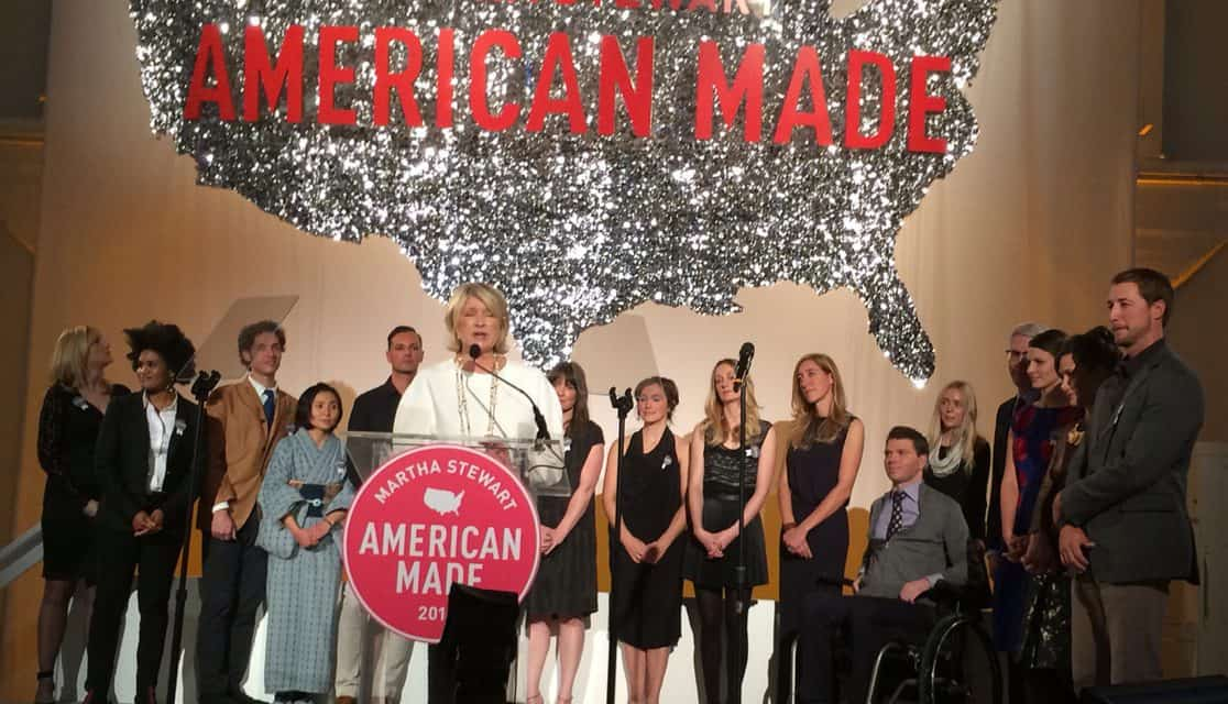 Inspired by Martha Stewart's 2014 American Made Summit & Awards