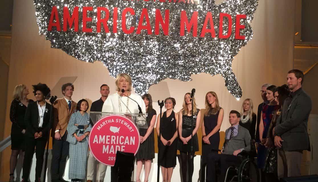 Inspired by Martha Stewart's 2014 American Made Summit & Awards