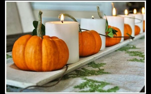 American Made Holidays: Homemade Thanksgiving Table Decorations