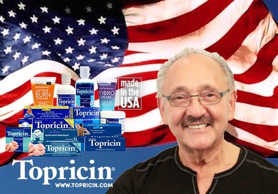 Topricin | Veteran owned company
