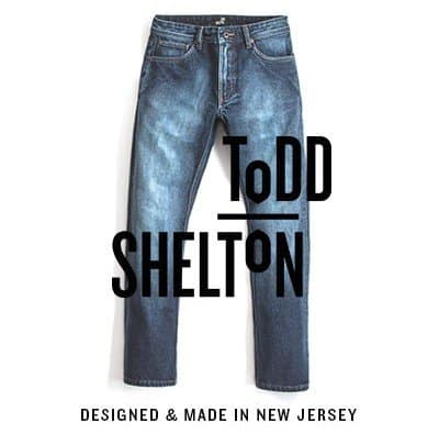 American Made Men's Jeans from Todd Shelton via USALoveList.com