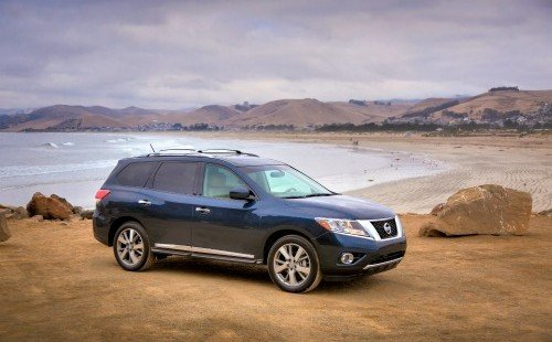 American Made Car, Nissan Pathfinder via USALoveList.com