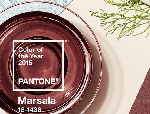 8 Ways to Wear 2015 Pantone Color Marsala For Under $30 via USALoveList.com