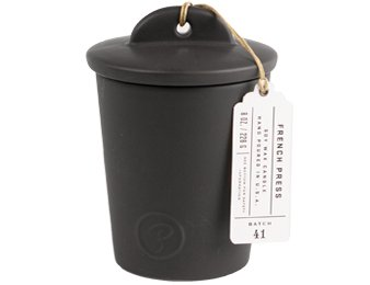 American Made Affordable Gifts for Coffee and Tea Lovers - Paddywax French Press Candle via USALoveList.com.jpg