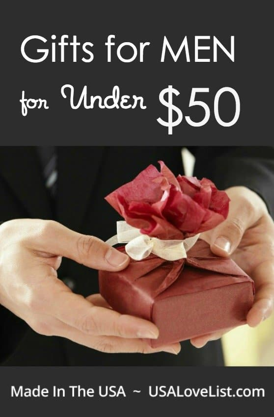 Save this list for every occasion! Gifts for men all under $50