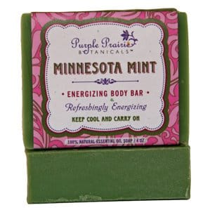 Natural bar soap by Purple Prairie