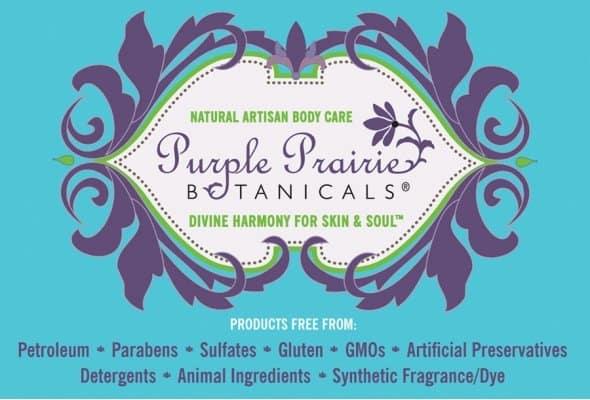 Purple Prairie Botanicals - Luxurious Face Creme Carrot Rose - 2 oz. Surya Brasil - 100% Natural Lip Balm Acai Berry - 0.15 oz. (pack of 2)
