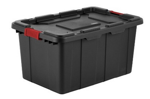 Sterilite 27 gallon storage tote | Christmas decoration storage containers |Made in USA