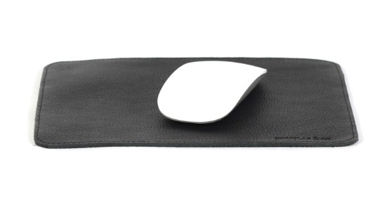Gifts for men under $50 | Douglas & Co. Detroit leather mouse pad #madeinUSA #usalovelisted #giftsformen