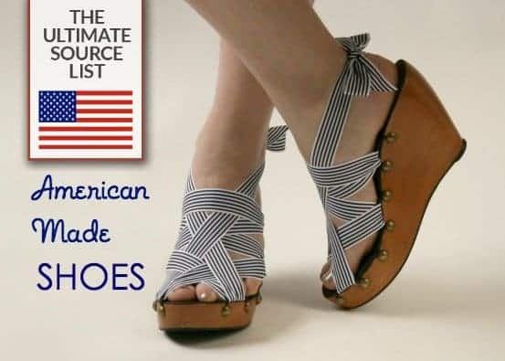 American made minimalist wardrobe: Made in the USA shoes