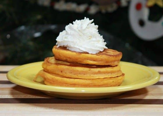 Pumpkin Pancakes Recipe {Featuring Bob's Red Mill Flour}