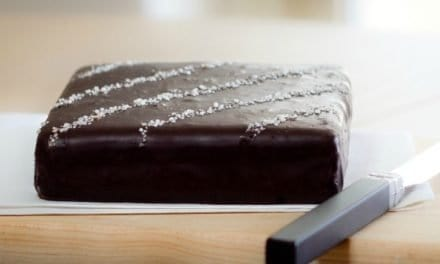 A 1.5 lb Slab of Chocolate Caramel Truffle Fudge from The Chocolate Nation