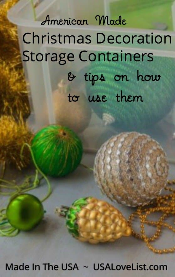 Get organized: Christmas decoration storage containers & 5 tips on how to use them!