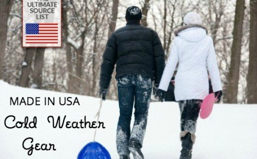 Cold weather gear  Made in USA