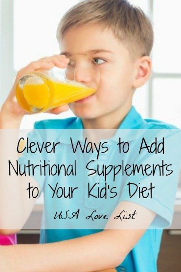 Nutritional Supplements for kids