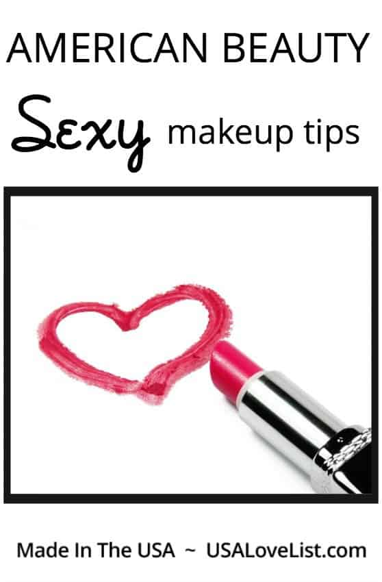 Sexy makeup tips American beauty