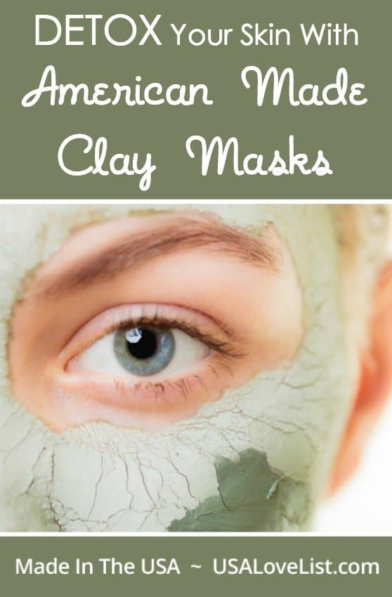 The importance of clay masks clean face, pore treatment, skin detox