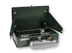 The Coleman camping stove. Sold by LL Bean and still made in the USA. (via USAlovelist.com)