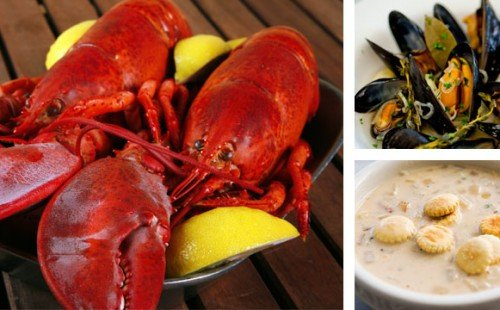 Enter to Win a Maine Shore Dinner for Four including live lobsters delivered to your door! via USAlovelist.com