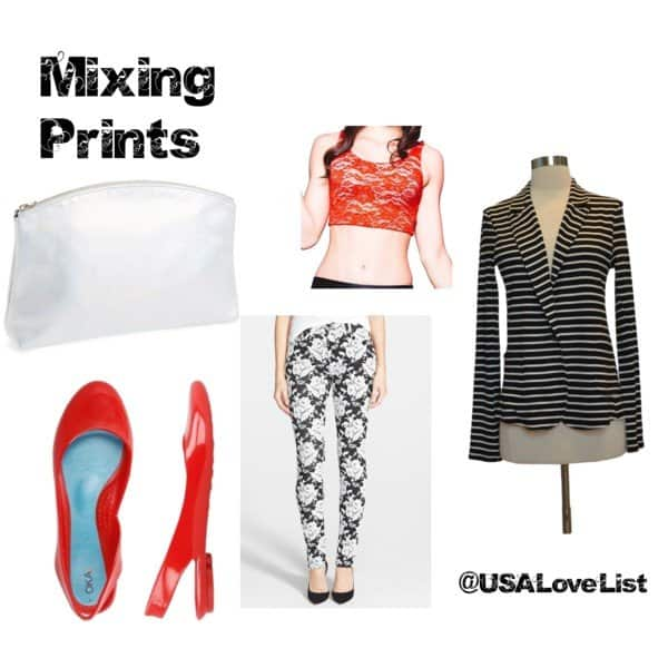 How to mix prints. American #style