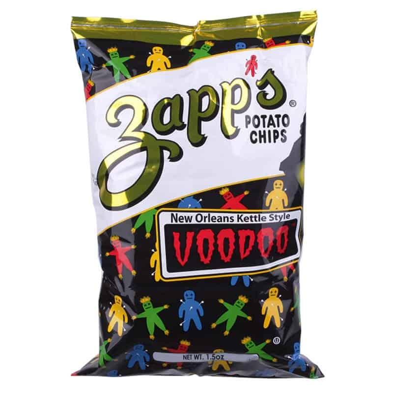 Celebrate Mardi Gras, with Ten Things We Love, Made in Louisiana, Like Zapp's Potato Chips in Voodoo Flavor #usalovelisted #madeinLouisiana