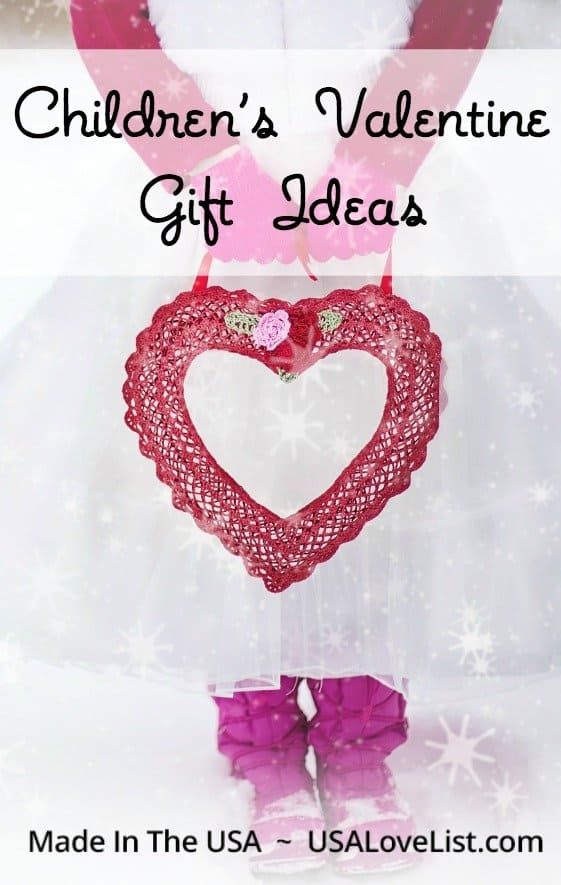 Children's Valentine Gifts Made in the USA