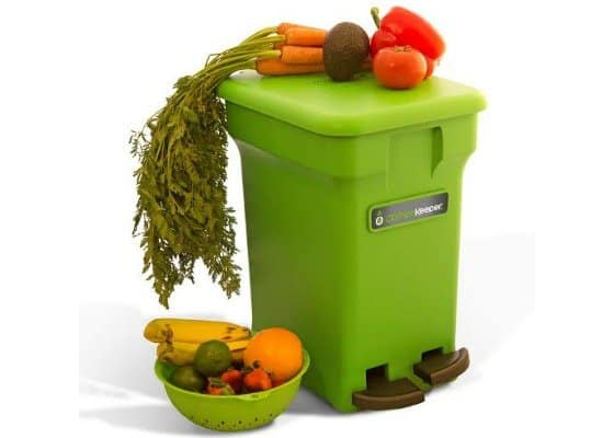 Easy Kitchen Composting with the American Made CompoKeeper