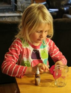 How to make Valentine Candy Jars with the kiddos for teacher gifts