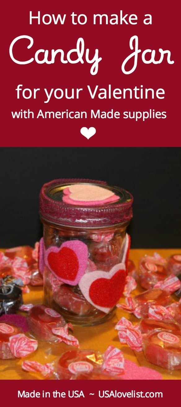 What an easy craft for kids to make for friends or teachers. Love that it uses American made supplies and candies! (via USAlovelist.com)
