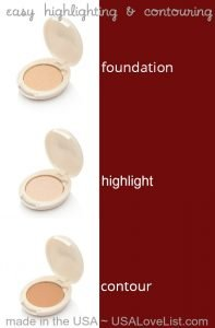 Easy highlighting and contouring makeup tips. American made, all natural - Rejuva Minerals.