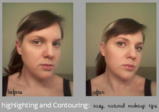 HIghlighting and Contouring makeup tips - Easy, all natural and American made mineral makeup.