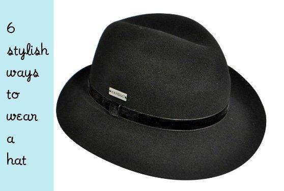 6 Stylish Ways To Wear A Hat
