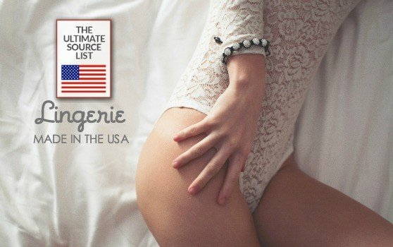 American made lingerie | An Ultimate Source Guide | Gifts for the bride, wedding gift ideas,