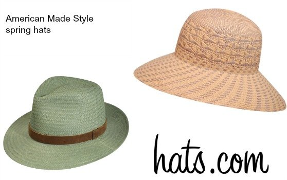 Spring style - American made hats from hatscom | 15% off with code USALove