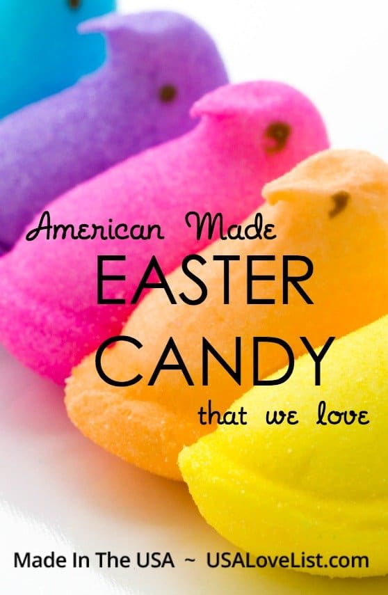Easter candy that we love | made in USA