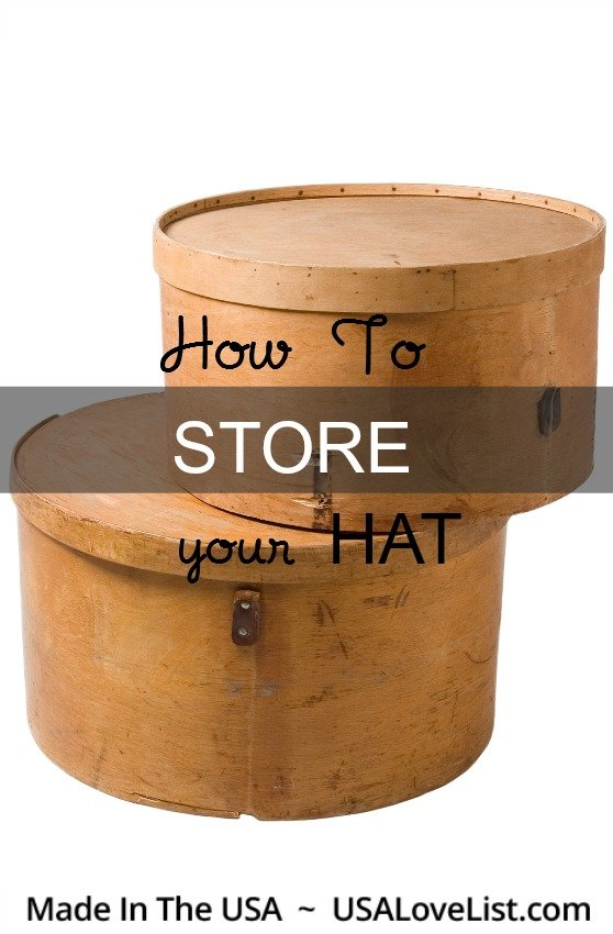 Hat care how to store your hats hat organization tips for How to store hats