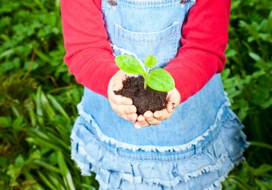 Kids' Gardening: 5 Tips with Natural, American Made products