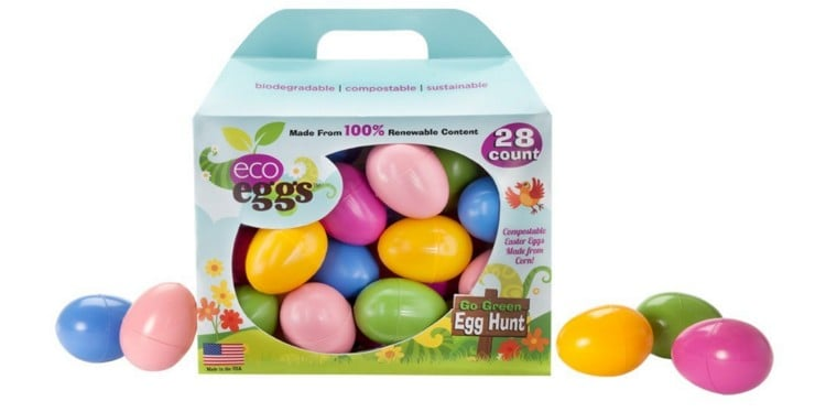 Goodies that fit in plastic Easter Eggs: Eco Eggs #green #usalovelisted #easter