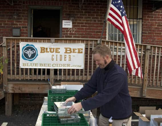 Blue Bee Cider: Stuff We Love, Made in Richmond, Virginia via USAlovelist.com
