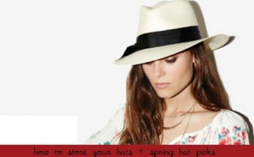 Tips on how to store your hats - Plus spring style with hats.com American made hats